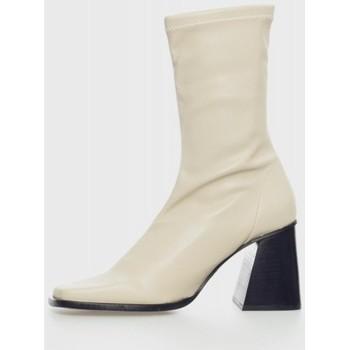 Sapatos Mulher Botins Angel Alarcon 21564 Beige