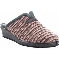 Sapatos Mulher Chinelos Garzon Vá para casa Sra.  1725.527 salmão Cinza
