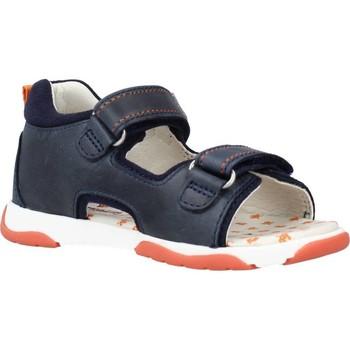 Sapatos Rapaz Sandálias Garvalin 212608 Azul