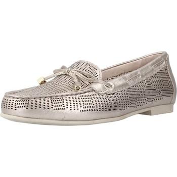 Sapatos Mulher Mocassins Stonefly CAPRI III 1 LAMINATED LTH Silver