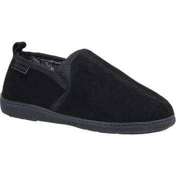 Sapatos Homem Chinelos Hush puppies  Preto