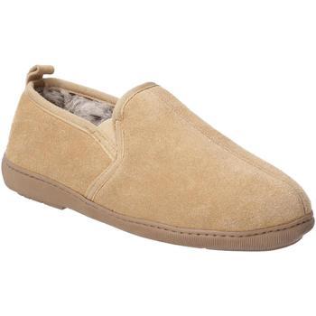 Sapatos Homem Chinelos Hush puppies  Tan