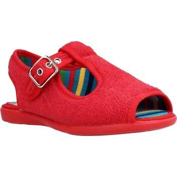 Sapatos Rapaz Chinelos Chispas 38155000 Vermelho