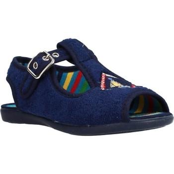 Sapatos Rapariga Chinelos Chispas 38155015 Azul