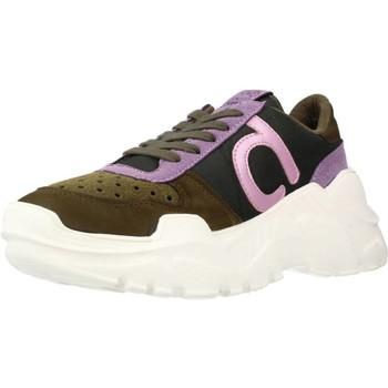 Sapatos Mulher Sapatilhas Duuo TALK 017 Marron