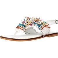 Sapatos Mulher Sandálias Café Noir C1GB2330 Branco