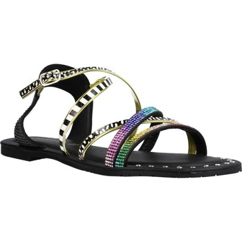 Sapatos Mulher Sandálias Café Noir MICROSTRA Multicolorido