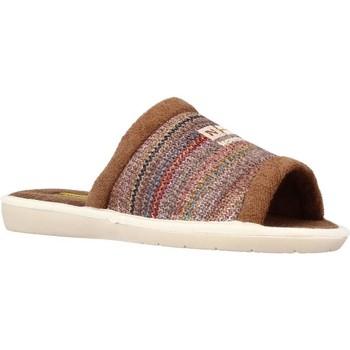 Sapatos Homem Chinelos Nordikas 1511B Marron