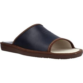 Sapatos Homem Chinelos Nordikas 6691DUBLIN Azul