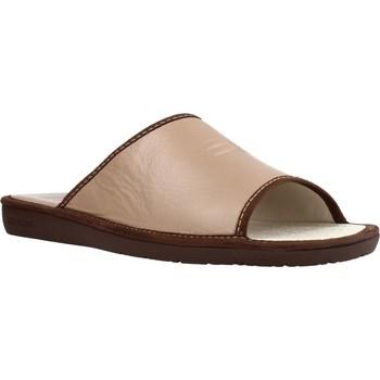 Sapatos Homem Chinelos Nordikas 6691DUBLIN Marron