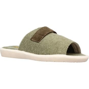 Sapatos Homem Chinelos Nordikas 7336B Verde