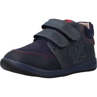 Sapatos Rapaz Sapatilhas de cano-alto Garvalin 191311 Azul