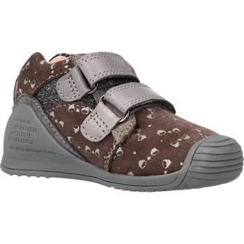 Sapatos Rapariga Botins Biomecanics 211116 Marron