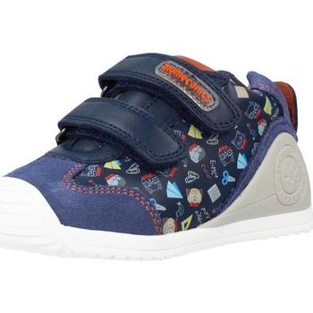 Sapatos Rapaz Sapatilhas de cano-alto Biomecanics 211150 Azul