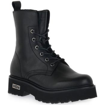 Sapatos Mulher Botins Cult SLASH 1814 MID Nero