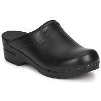 Sapatos Tamancos Sanita SONJA OPEN Preto