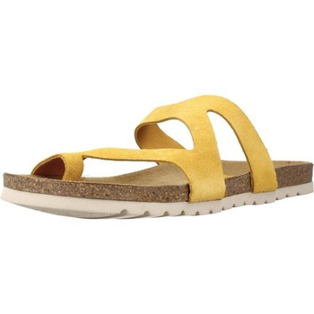Sapatos Mulher Chinelos Chardi 4170CH Amarelo
