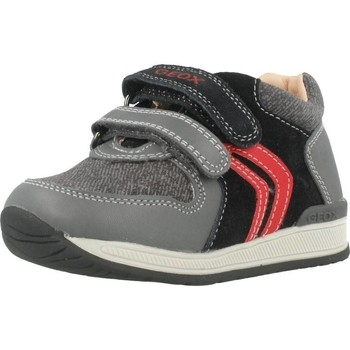 Sapatos Rapaz Sapatilhas Geox B RISHON B. A Cinza