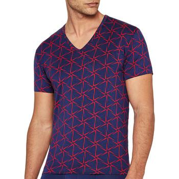 Textil Homem T-Shirt mangas curtas I Am What I Wear 1300J87 K72 Azul