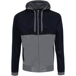 Textil Homem Sweats Awdis JH059 Marinha francesa/Cinzento desportivo