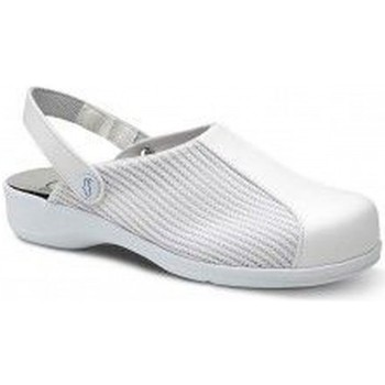 Sapatos Mulher Chinelos Feliz Caminar ZUECOS SANITARIOS MUJER EPSILON Branco