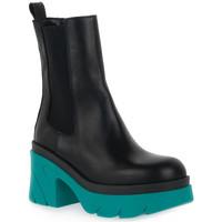 Sapatos Mulher Botins Priv Lab MARINO BEATLES Blu