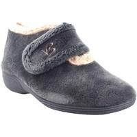 Sapatos Mulher Chinelos Vulca Bicha Vá para casa senhora  4771 cinza Cinza