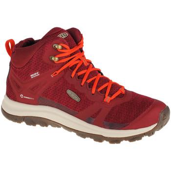 Sapatos Mulher Sapatos de caminhada Keen Terradora II Wp Rouge