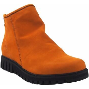 Sapatos Mulher Botas baixas Pepe Menargues Saque de senhora  torrado Amarelo