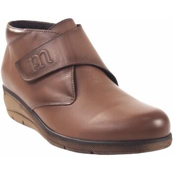Sapatos Mulher Botas baixas Pepe Menargues Saque de senhora  taupe Castanho