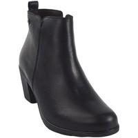 Sapatos Mulher Botas baixas Pepe Menargues Saque de senhora  preto Preto