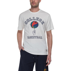 Textil Homem T-Shirt mangas curtas Franklin & Marshall T-shirt Franklin & Marshall Classique gris