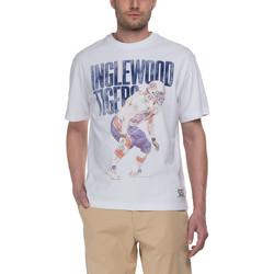 Textil Homem T-Shirt mangas curtas Franklin & Marshall T-shirt Franklin & Marshall Classique blanc