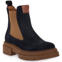 Sapatos Mulher Botins Priv Lab 130C BLU CAMOSCIO Blu