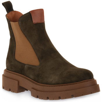 Sapatos Mulher Botins Priv Lab 130C MILITARE CAMOSCIO Verde