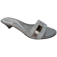 Sapatos Mulher Chinelos Keys  Prata
