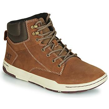 Sapatos Homem Sapatilhas de cano-alto Caterpillar COLFAX MID Castanho