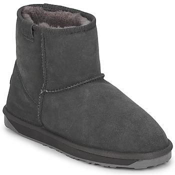 Sapatos Mulher Botas baixas EMU STINGER MINI Cinza