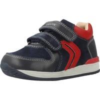 Sapatos Rapaz Sapatilhas Geox B RISHON BOY Azul