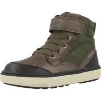Sapatos Rapaz Sapatilhas de cano-alto Geox J MATTIAS ABX Verde
