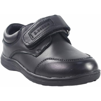 Sapatos Rapaz Mocassins Bubble Bobble Sapato menino  a069 preto Preto