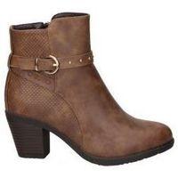 Sapatos Mulher Botins Chika 10 BOTINES CHK10 KURAZO 21 MODA JOVEN CUERO Beige