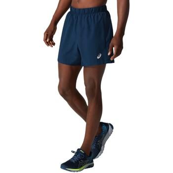 Textil Homem Shorts / Bermudas Asics Katakana 5in Short Bleu marine
