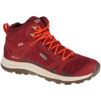 Sapatos Mulher Sapatilhas de cano-alto Keen Terradora II WP Vermelho
