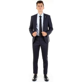 Textil Homem Fatos Manuel Ritz 2832A3109-203456 Azul