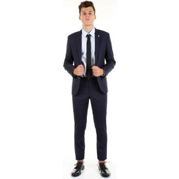 Textil Homem Fatos Manuel Ritz 2832A3109-203460 Azul