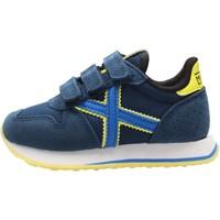 Sapatos Rapaz Sapatilhas Munich - Mini massana 459 blu 8207459 VERDE