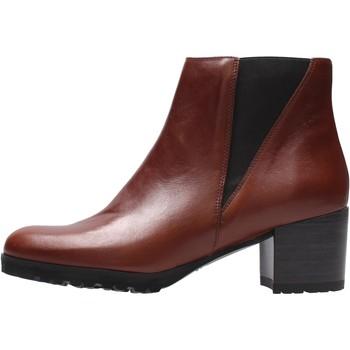 Sapatos Mulher Botins Grunland - Tronchetto marrone PO2232 MARRONE