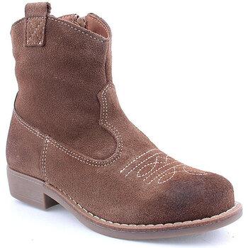 Sapatos Rapariga Botas Agm K Boot Texana Taupe