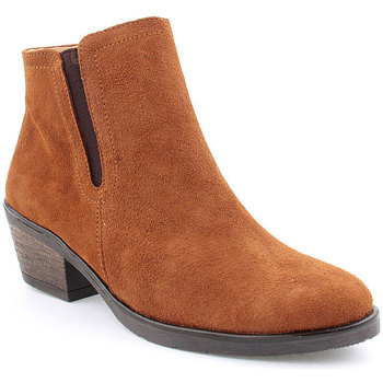 Sapatos Mulher Botins Bc L Ankle boots CASUAL Camel